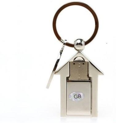 ddf2fe3b5a4 40% OFF on Eshop Metal Home Shape 16 GB Pen Drive(Silver) on ...