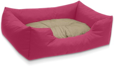 petitude pet store PC117 M Pet Bed(Pink & Cream)