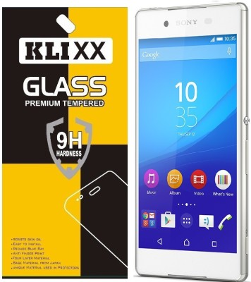 Klixx Tempered Glass Guard for Sony Xperia Z3+, Sony Xperia Z3 Plus(Pack of 1)