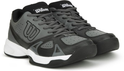 Wilson Rush Open 2.0 Tennis Shoe(Black, Grey) at flipkart