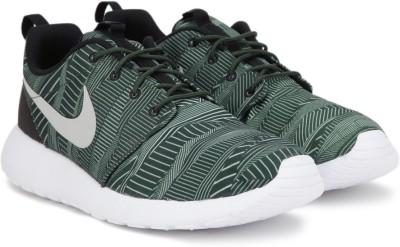Nike ROSHE ONE PRINT Running Shoes For Men(Green) 1