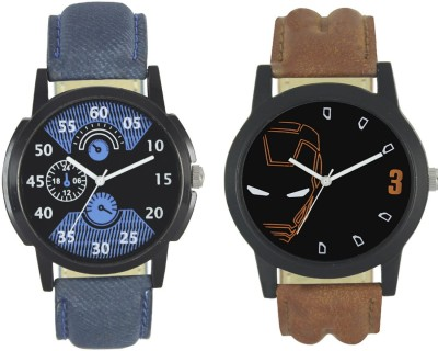Shivam Retail New Fashion 002 004 Branded Leather Analog Watch   For Boys Shivam Retail Wrist Watches