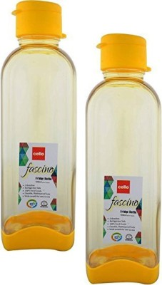 Cello Fascino 1000 ml Bottle(Pack of 2, Yellow)  available at flipkart for Rs.243