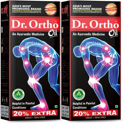 Dr. Ortho Joint Pain Relief X 2 Liquid(120 ml)