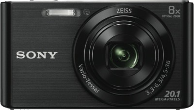 View Sony DSC W830 Black NO Point & Shoot Camera(Black) Price Online(Sony)