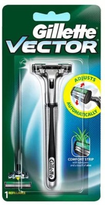 Gillette Vector Plus Manual Cartridge Razors