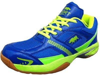 Port Rhino Court Badminton Shoes For Women(Multicolor)