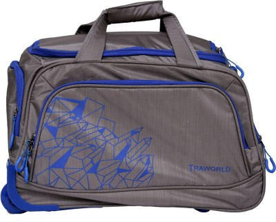 TRAVELLER CHOICE duffle grey 20 Cabin Luggage   20 inch Grey