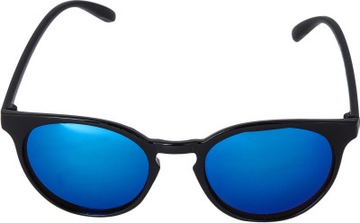 Mango People Wayfarer Sunglasses(Blue) at flipkart