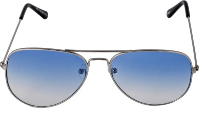 Mango People Aviator Sunglasses(Blue) at flipkart