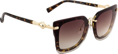 Farenheit FA-7928-C25 Rectangular Sunglasses(Brown) at flipkart