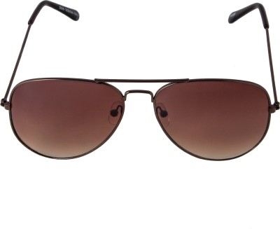 Mango People Aviator Sunglasses(Brown) at flipkart
