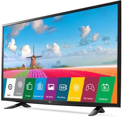 LG 123cm (49 inch) Full HD LED Smart TV(49LJ554T)