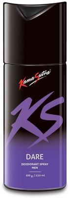 KamaSutra KS Dare Deo 150 ml Deodorant Spray  -  For Men(150 ml)  available at flipkart for Rs.199