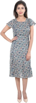 VS Fashion Women A-line Multicolor Dress