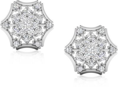 IskiUski White Gold 18kt Diamond Stud Earring