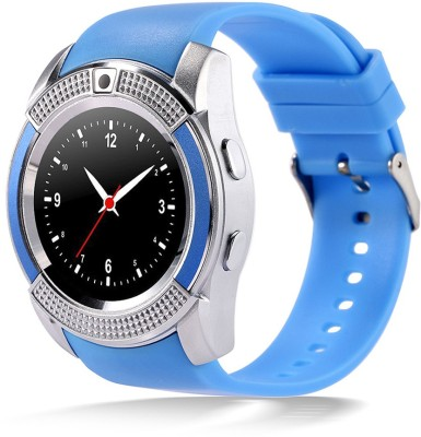 HealthMax HTMAX V8-1 phone Blue Smartwatch(Blue Strap Free Size) at flipkart
