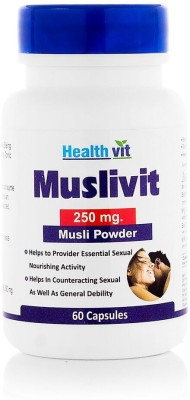 Healthvit Muslivit 250 mg Supplements (60 Capsules)