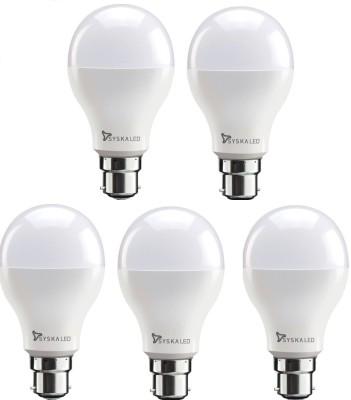 Syska 18 W Standard B22 LED Bulb(White, Pack of 5) at flipkart