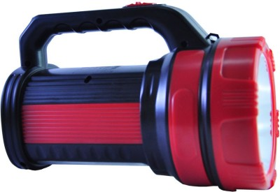 Home Delight 10 Watt Heavy Duty Long Range Fast Charge Twin Tube Emergency Light Torches(Red, Black) at flipkart