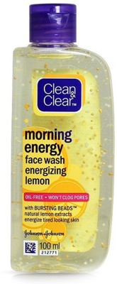 Clean & Clear Morning Energy Face Wash- Lemon, 100ml