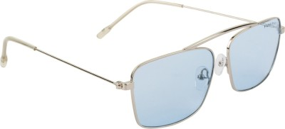 Farenheit FA-2409-C2 Rectangular Sunglasses(Blue) at flipkart