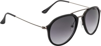 Farenheit FA-2408-C1 Aviator Sunglasses(Grey) at flipkart