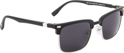 Farenheit Rectangular Sunglasses(Blue) at flipkart