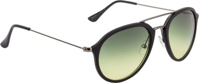 Farenheit Aviator Sunglasses(Green) at flipkart