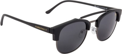 Farenheit Clubmaster Sunglasses(Grey) at flipkart