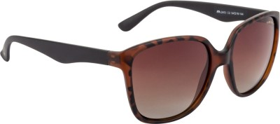 Farenheit Rectangular Sunglasses(Brown) at flipkart