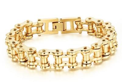 Kirati Alloy 14K Yellow Gold Bracelet at flipkart