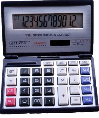CT CT-8855V Financial CT-8855V Financial Basic Calculator(12 Digit)