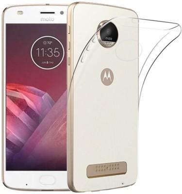 Flipkart SmartBuy Back Cover for Motorola Moto Z2 Play(Clear, Rubber)