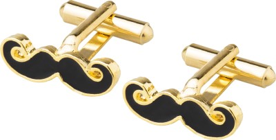 Shining Jewel Brass Cufflink(Gold)
