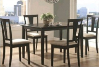 Perfect Homes by Flipkart Hayman 6 Seater Dining Set(Finish Color - Walnut)