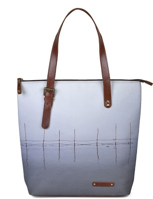 Kantha Tote(Grey) at flipkart