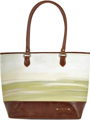 Kantha Women Green Tote at flipkart