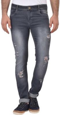 Ansh Fashion Wear Regular Men Grey Jeans