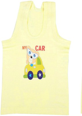 Babeezworld Vest For Boys Cotton(Yellow, Pack of 1)  available at flipkart for Rs.99
