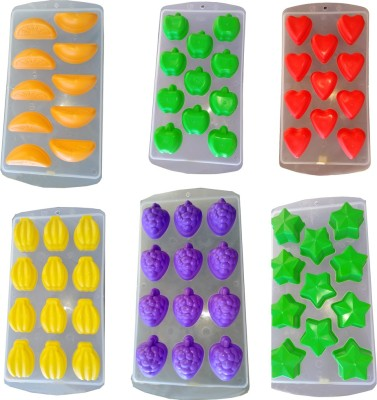 DLD 67 - Cup Chocolate Mould(Pack of 6) at flipkart