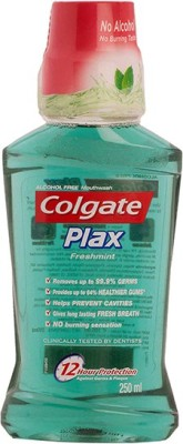 Colgate Plax Mouthwash - Fresh Mint(250 ml)
