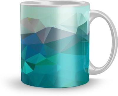 EARNAM Earnam Fancy 320ml Ceramic Printed mug Gift For gift for mom Gift For 21 years boy Ceramic Mug(350 ml) at flipkart