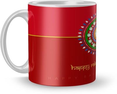 EARNAM Earnam Rakhi gift, rakhi mug, rakshabandhan gift, rakhi gift for brother, rakhi gift for sister, birthday gift for sister Ceramic Mug(350 ml)  available at flipkart for Rs.218