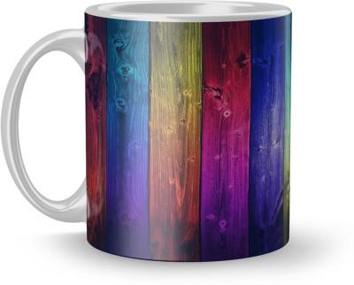 EARNAM Earnam Attractive 320ml Ceramic Printed mug Gift For anniversary Gift For kids girl Ceramic Mug(350 ml) at flipkart