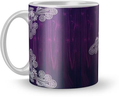 EARNAM Earnam Exclusive 320ml Ceramic Printed mug Gift For ladies Gift For young girls Ceramic Mug(350 ml) at flipkart