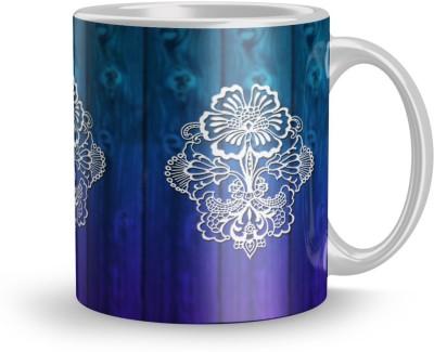 EARNAM Earnam Fine 320ml Ceramic Printed mug Gift For retired person Gift For anniversary Ceramic Mug(350 ml) at flipkart