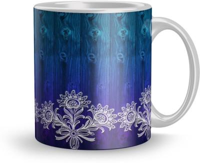 EARNAM Earnam Exclusive 320ml Ceramic Printed mug Gift For infant baby boy Gift For under 10 Ceramic Mug(350 ml) at flipkart