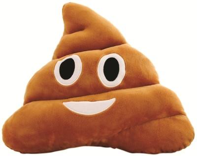 Skylofts Stuffed Soft Poop Smiley Emoji Laughing Cushion PIllow   26 cm Brown Skylofts Soft Toys