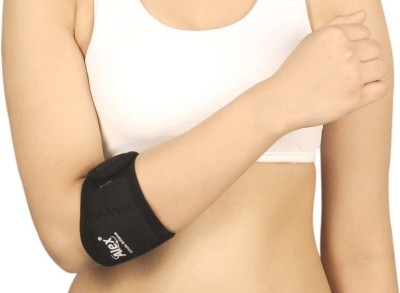 Alex tennis Elbow Palm & Elbow Support (Free Size, Black)  available at flipkart for Rs.105